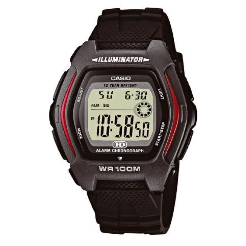 3D náhled Pánské hodinky CASIO HDD-600-1 9fdebaee2e9
