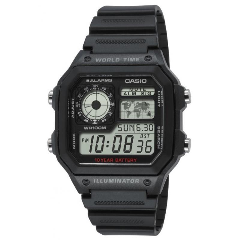 3D náhled Pánské hodinky CASIO Collection AE-1200WH-1A f5c08f7cde