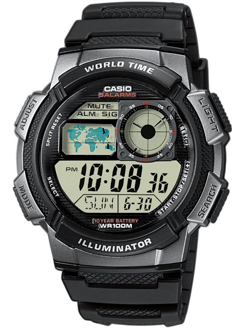 Pánské hodinky CASIO AE-1000W-1B  fb554931de