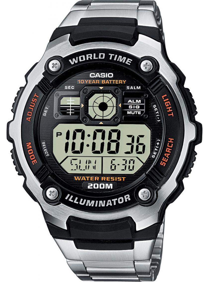 3D náhled Pánské hodinky CASIO AE-2000WD-1A 2d351f7e51