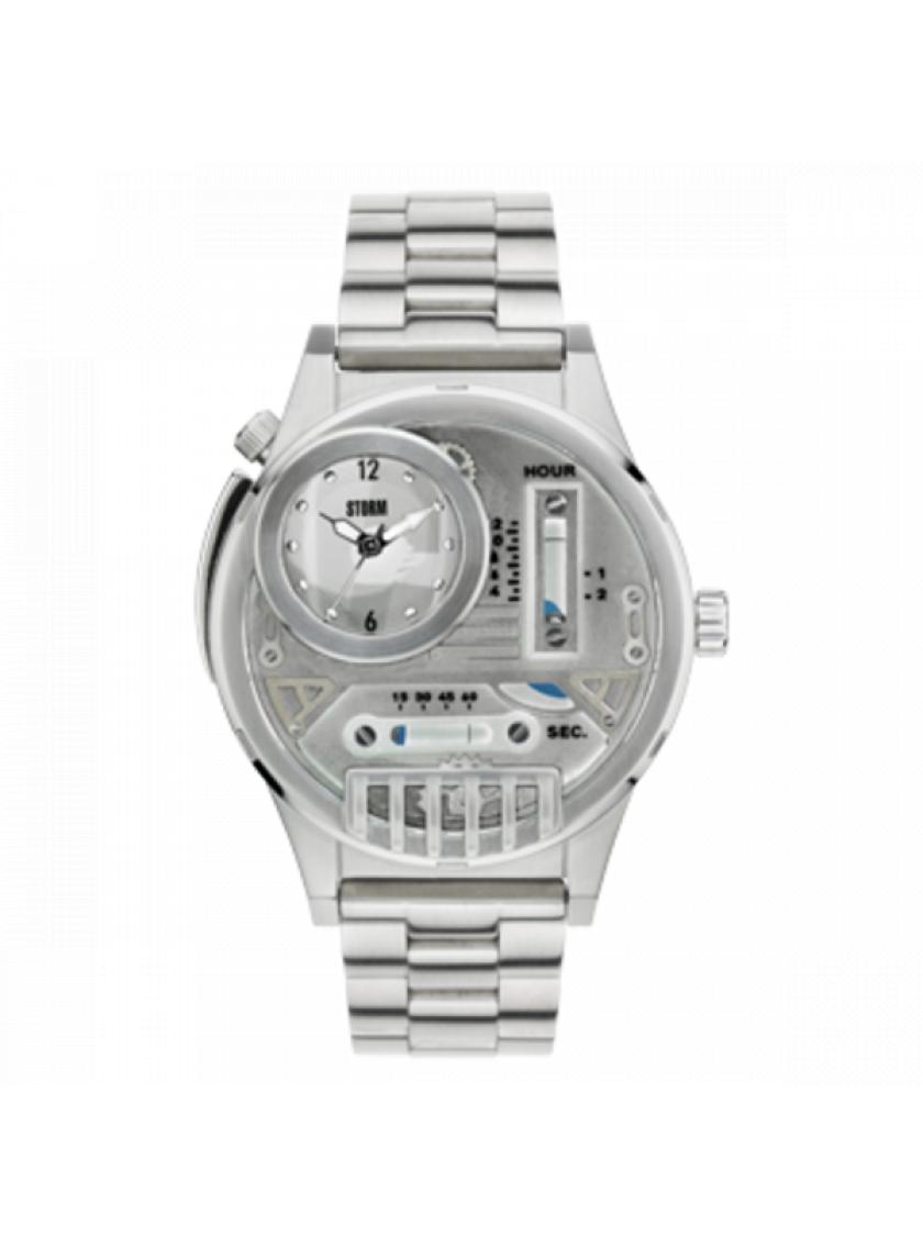 7a8f91f216e Pánské hodinky STORM Hydroxis Silver 47237 S