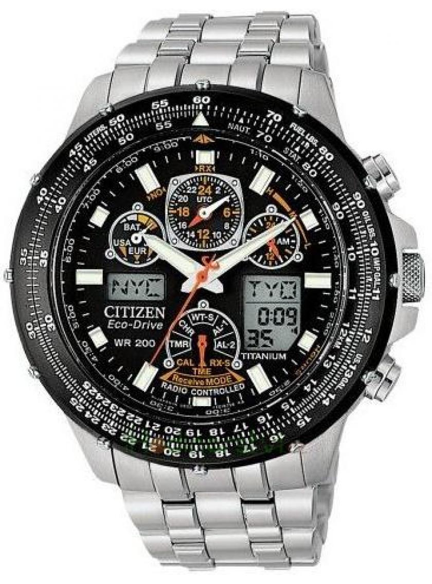 3D náhled Pánské hodinky CITIZEN Super Skyhawk JY0080-62E 5f0dc4b978