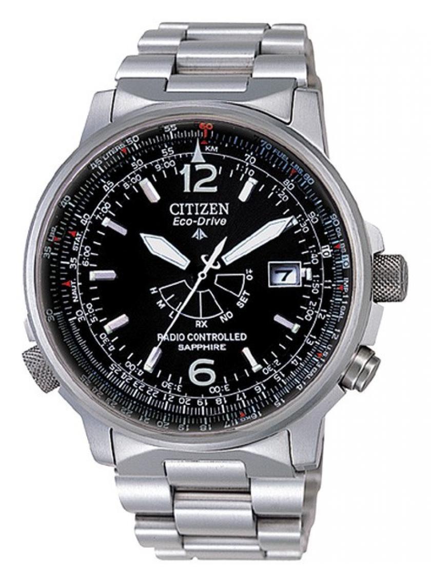 Pánské hodinky CITIZEN Pilot Radiocontrolled AS2031-57E  2a15e7c0d9
