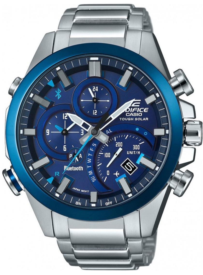 3D náhled Pánské hodinky CASIO Edifice Tough Solar Bluetooth EQB-500DB-2A c91667434c