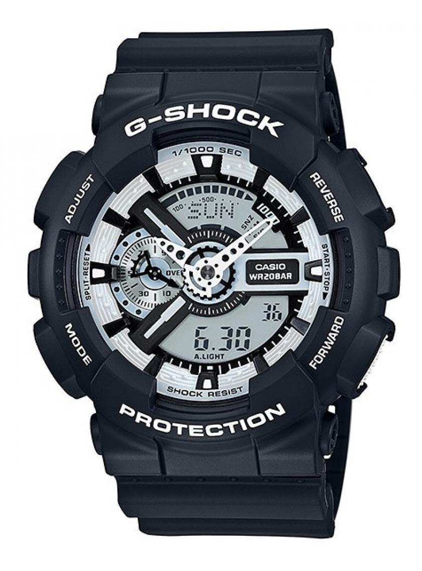 2d2579a2b Pánské hodinky CASIO G-SHOCK GA-110BW-1AER   Klenoty-buráň.cz