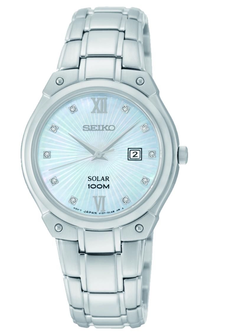 9ffa83aedae Dámské hodinky SEIKO Solar SUT213P1