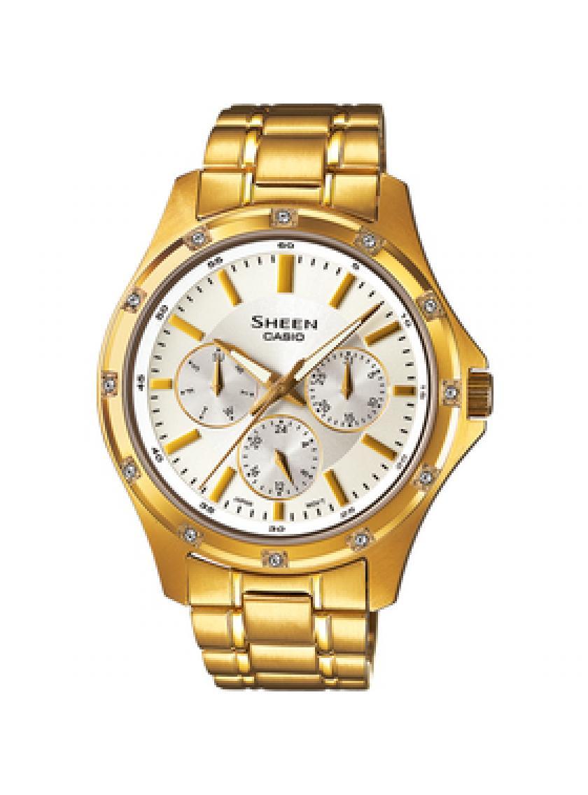 Dámské hodinky CASIO SHEEN SHE-3801GD-7A  690dcb38e56