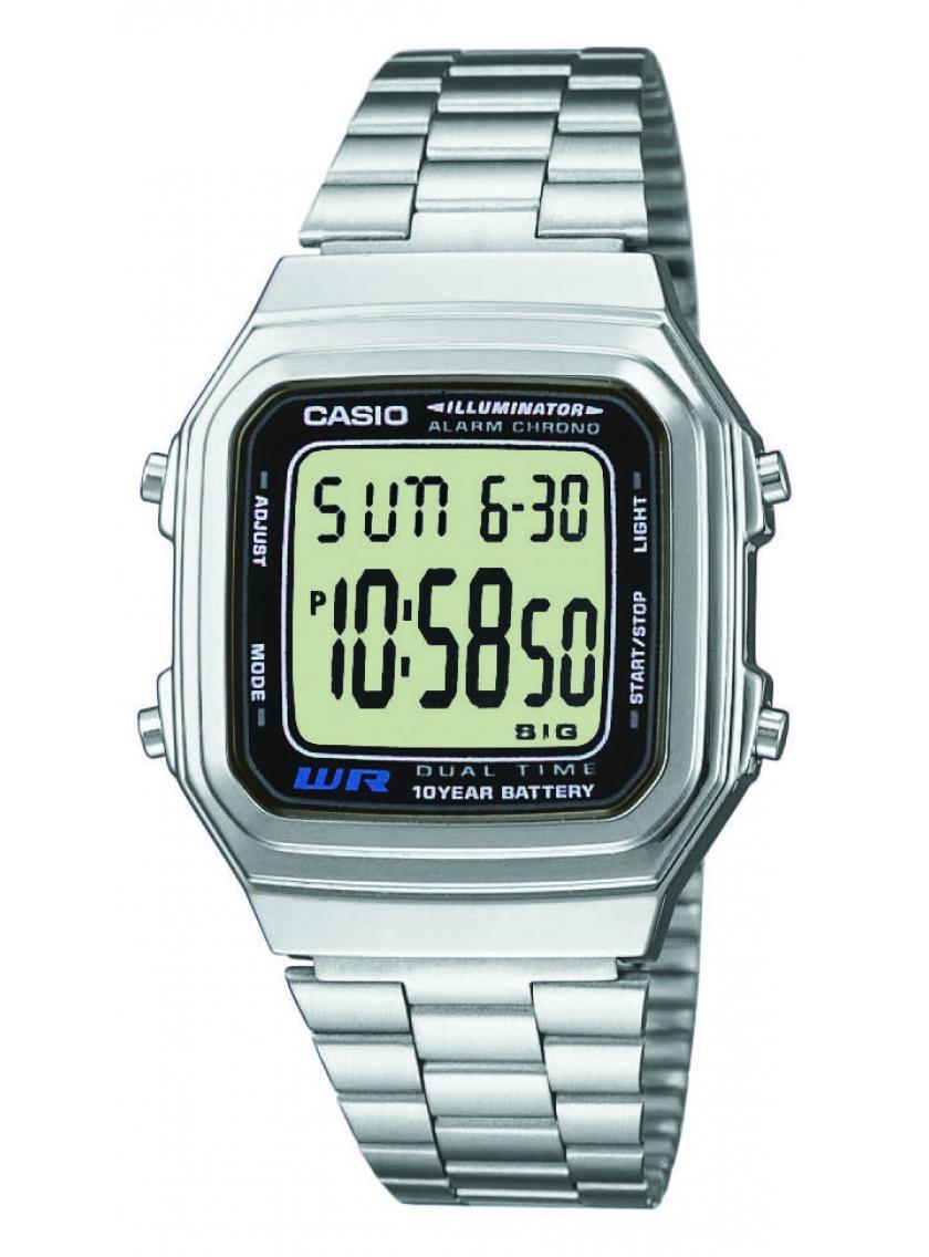 bf4c4bb39b6 3D náhled Pánské hodinky CASIO Collection Retro A-178A-1