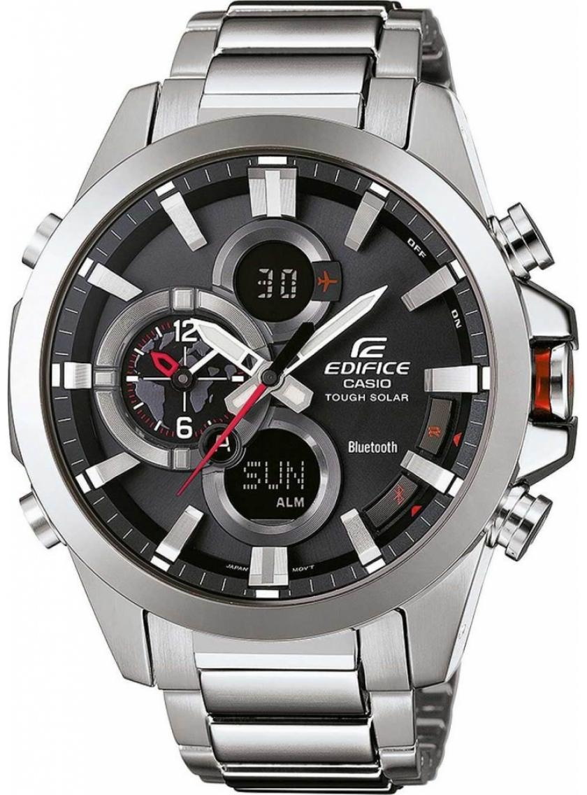 3D náhled Pánské hodinky CASIO Edifice Tough Solar Bluetooth ECB-500D-1A 35c9eb4dfa