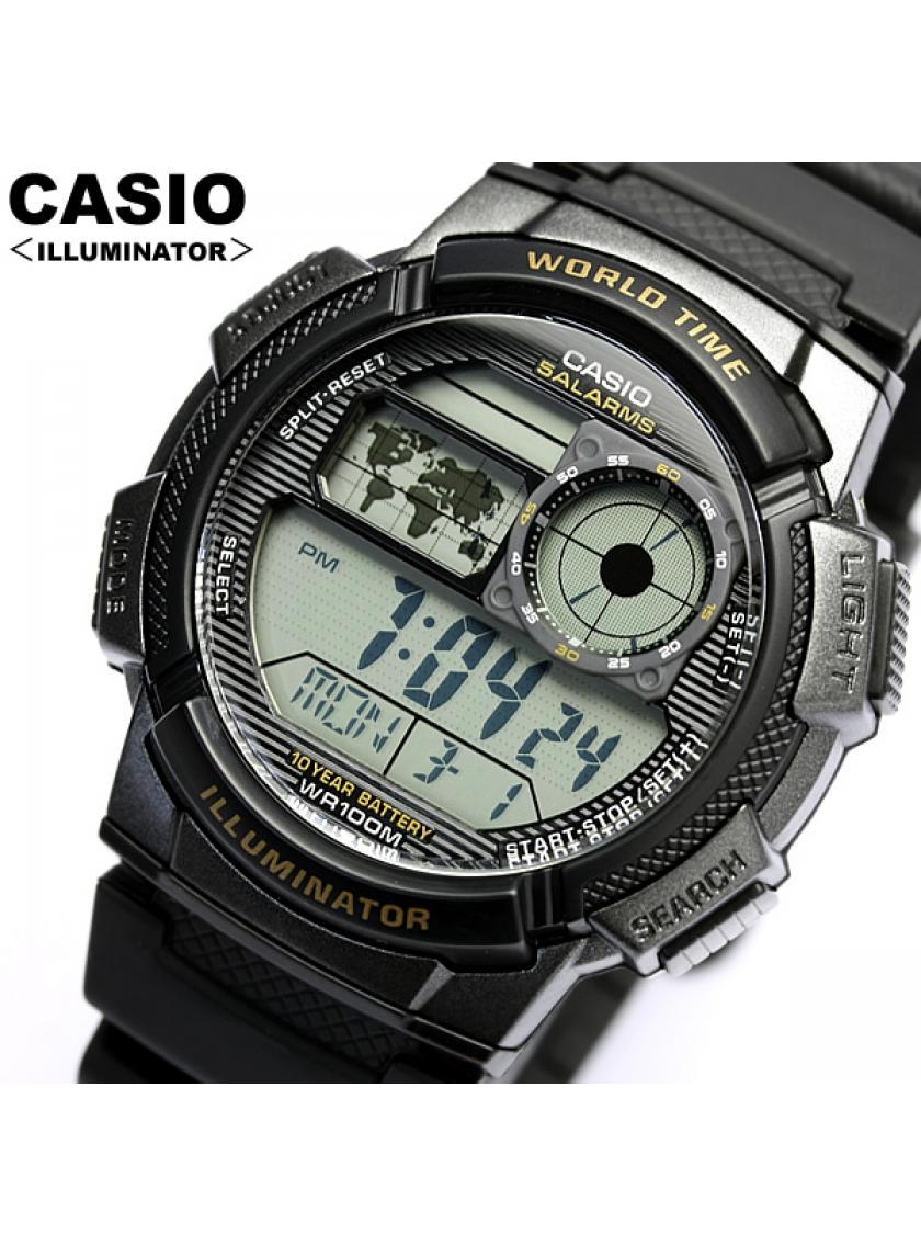 e80f6acb1b0 ... Pánské hodinky CASIO AE-1000W-1A ...
