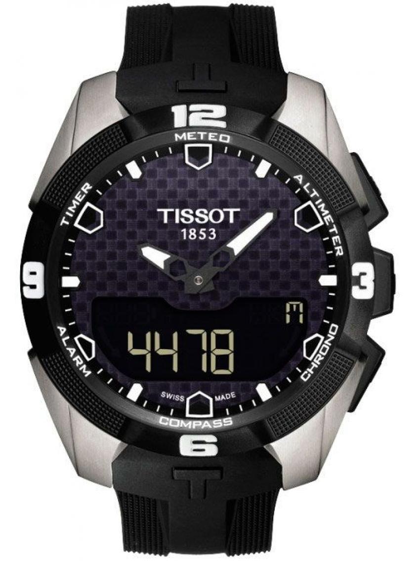 3D náhled Pánské hodinky TISSOT T-Touch Expert Solar T091.420.47.051.00 e8976d93604