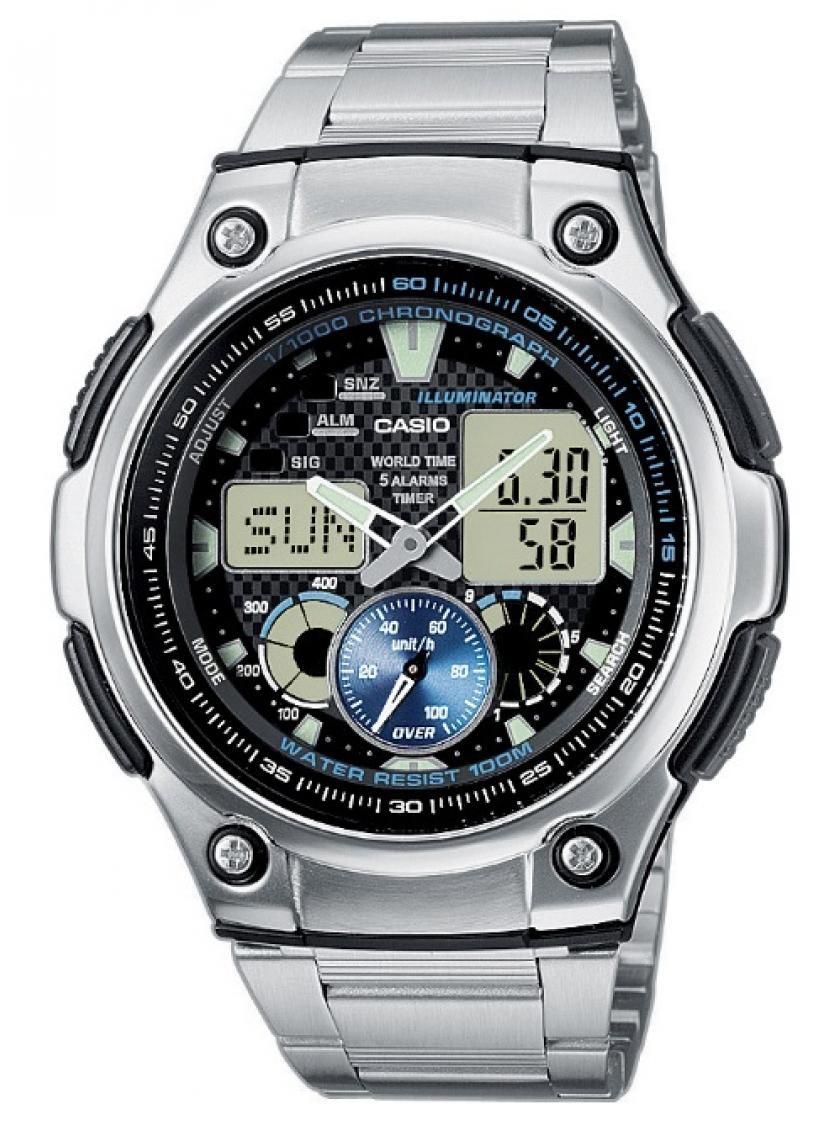 3D náhled Pánské hodinky CASIO AQ-190WD-1A 3f030c48a7