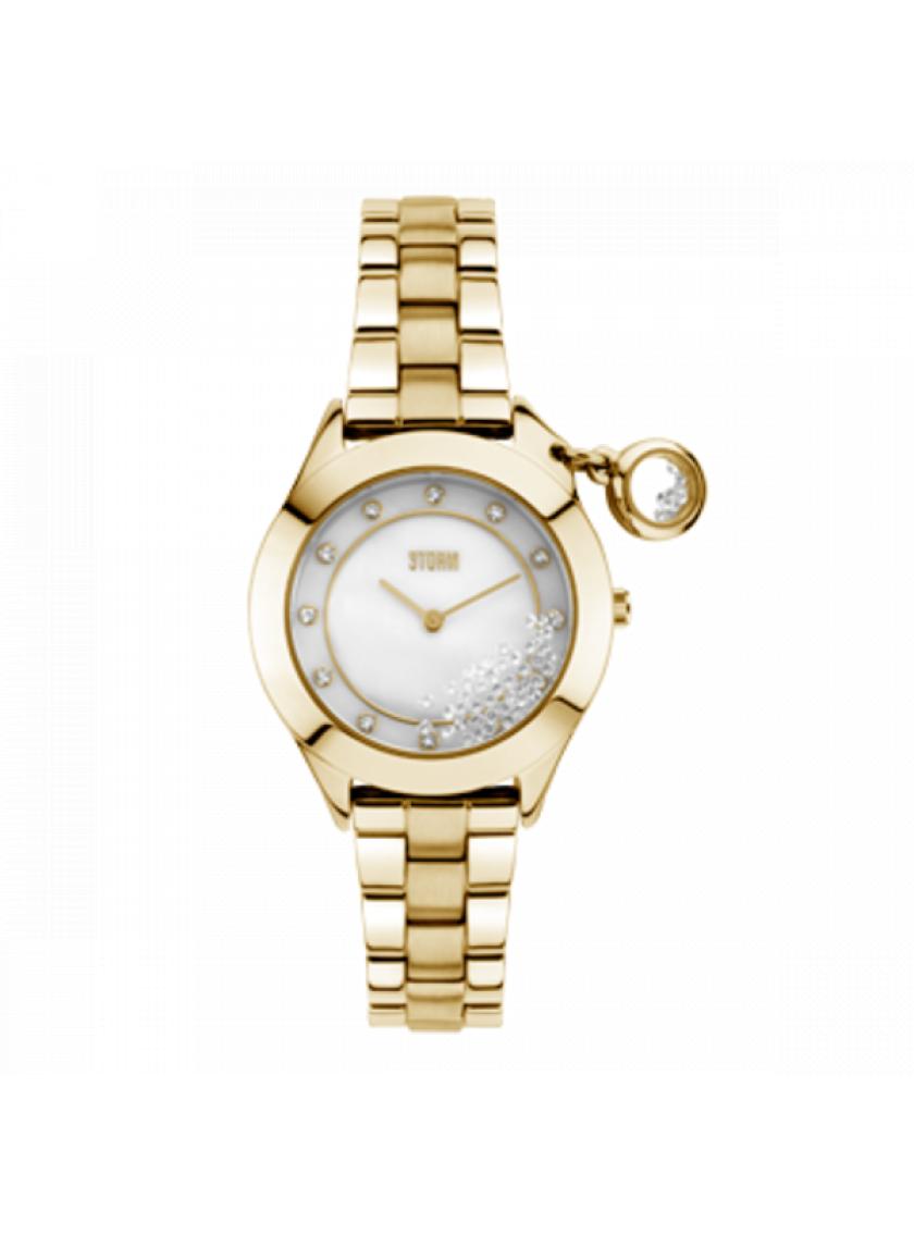 413e144b380 Dámské hodinky STORM Sparkelli Gold 47222 GD