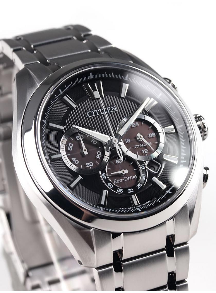 296f5c2ad92 Pánské hodinky CITIZEN Super Titanium Chrono CA4010-58E ...