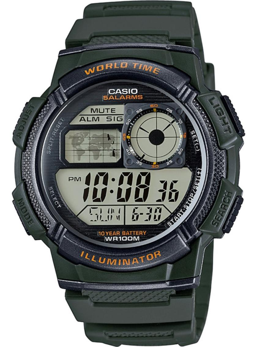 3D náhled Pánské hodinky CASIO AE-1000W-3A b2ae3f89b0