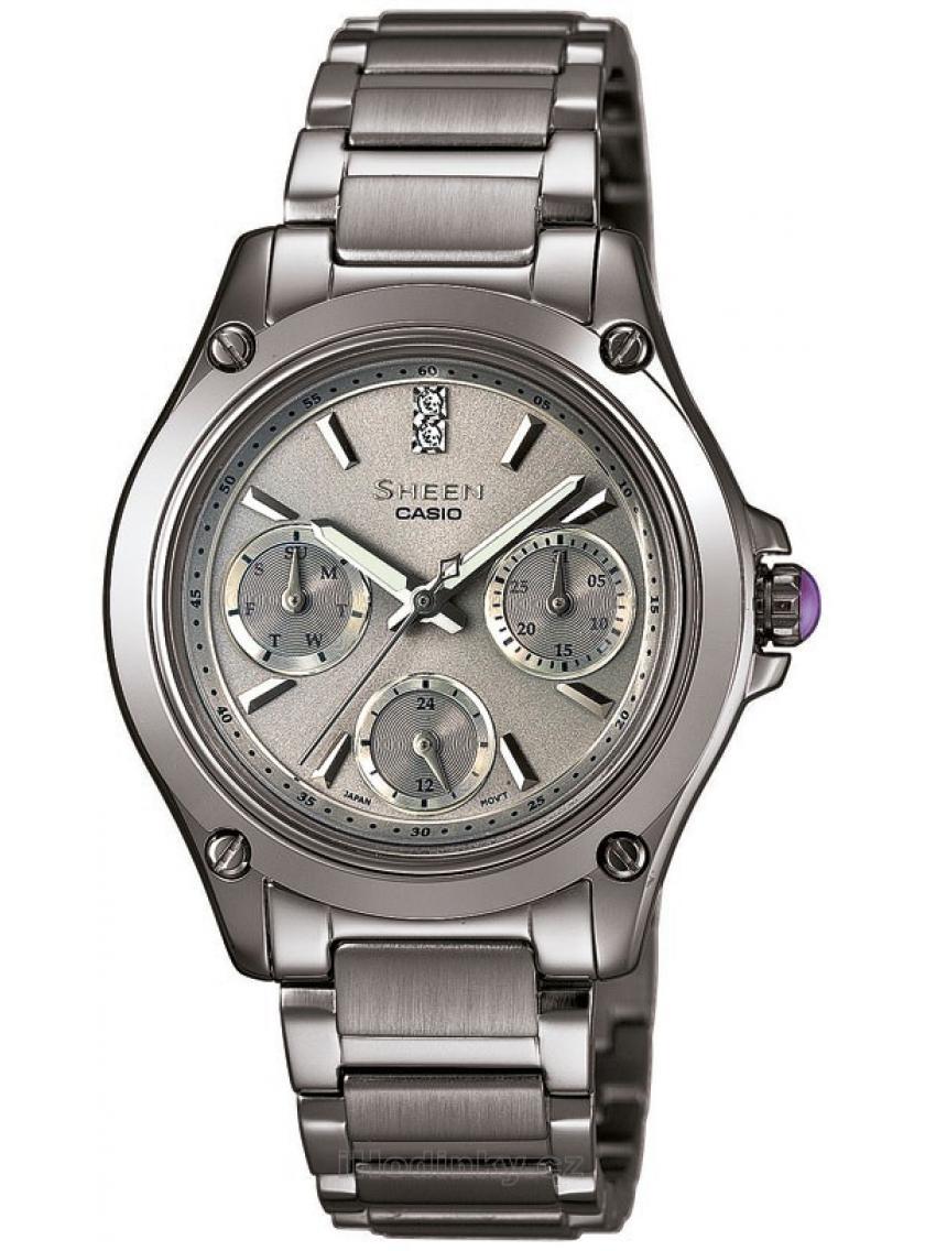 2b343a073cb Dámské hodinky CASIO SHEEN SHE-3502BD-8A