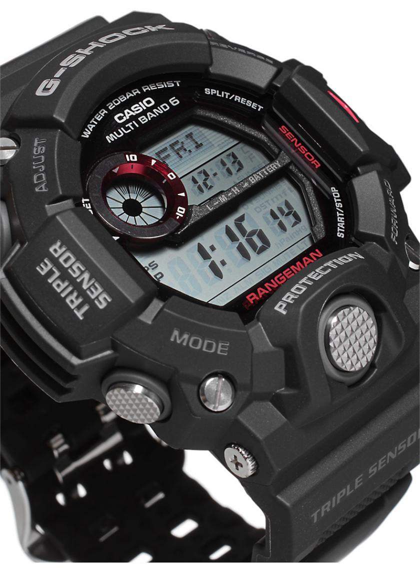 ca8600b1e23 Pánské hodinky CASIO G-SHOCK Rangeman GW-9400-1 ...