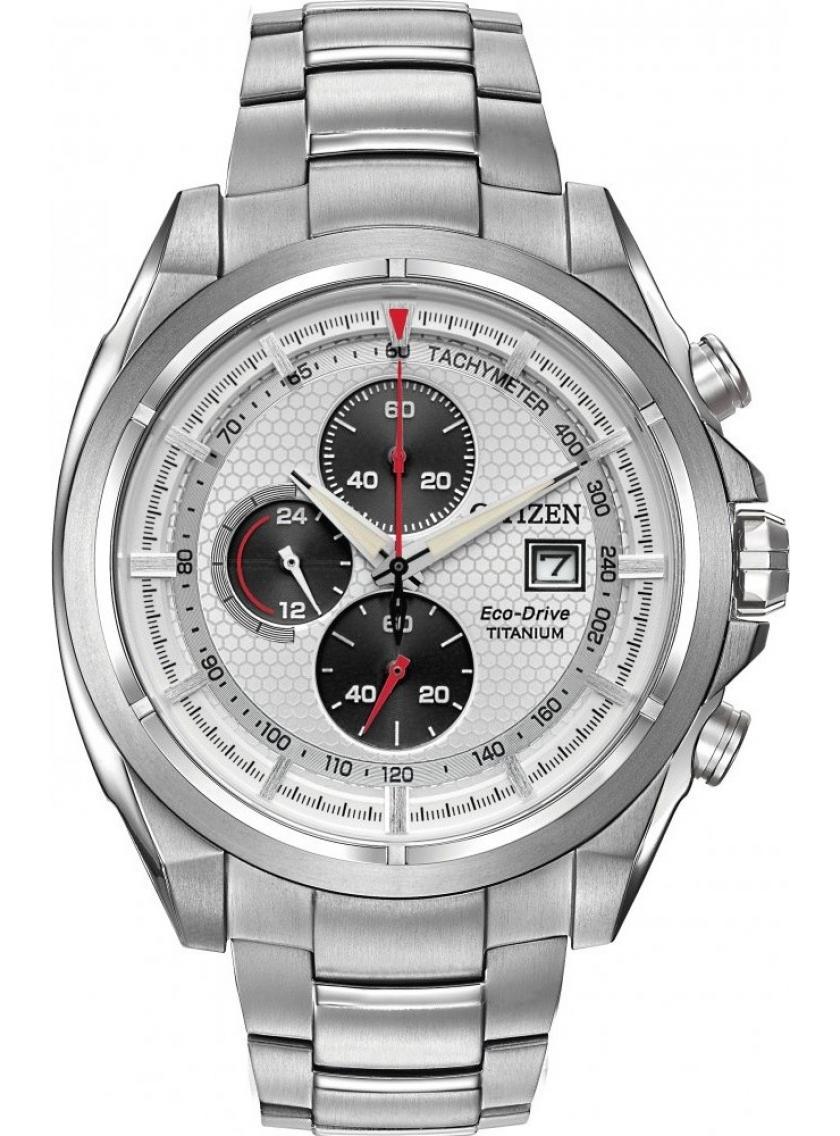 Pánské hodinky CITIZEN Super Titanium Chrono CA0550-52A  d09420a65d