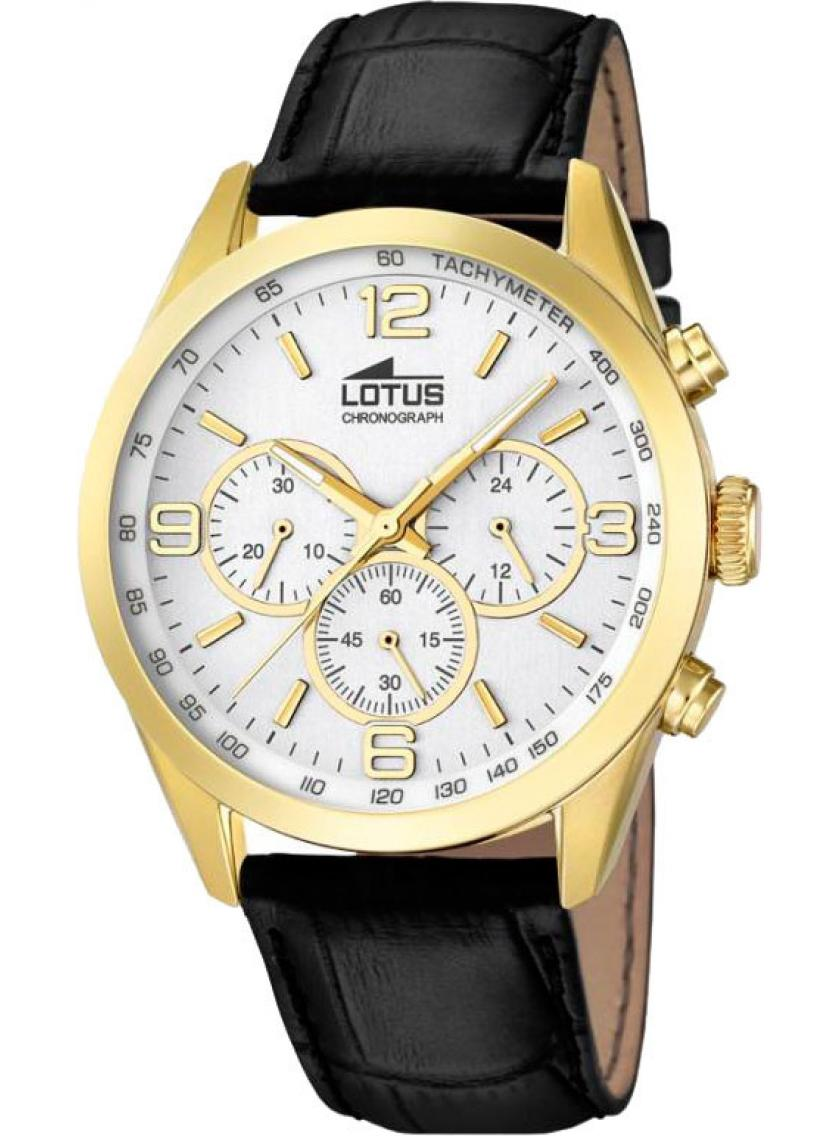 4f97cc725472 Pánské hodinky LOTUS Chrono Minimalist L18156 1