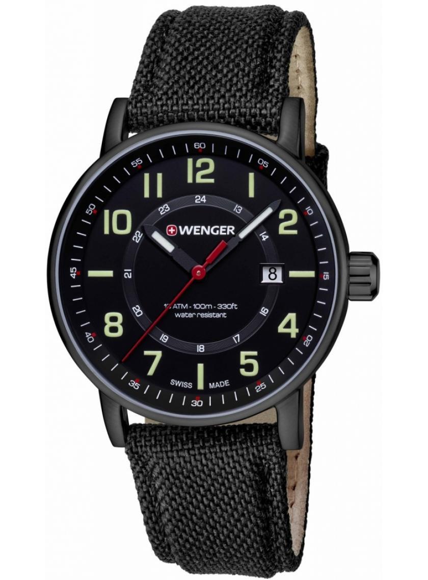 3D náhled Pánské hodinky WENGER Attitude Outdoor 01.0341.111 e69fc54207