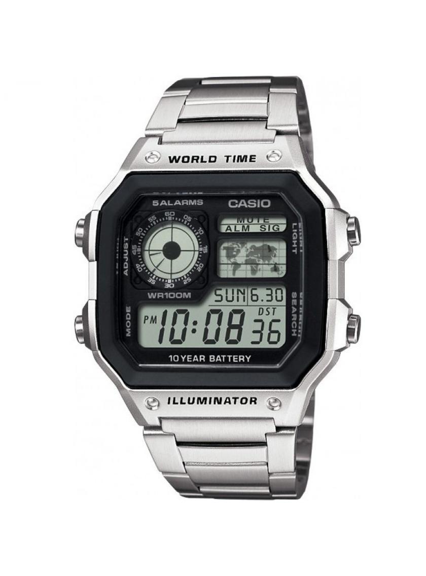 3D náhled Pánské hodinky CASIO Collection AE-1200WHD-1A bdf13d8534