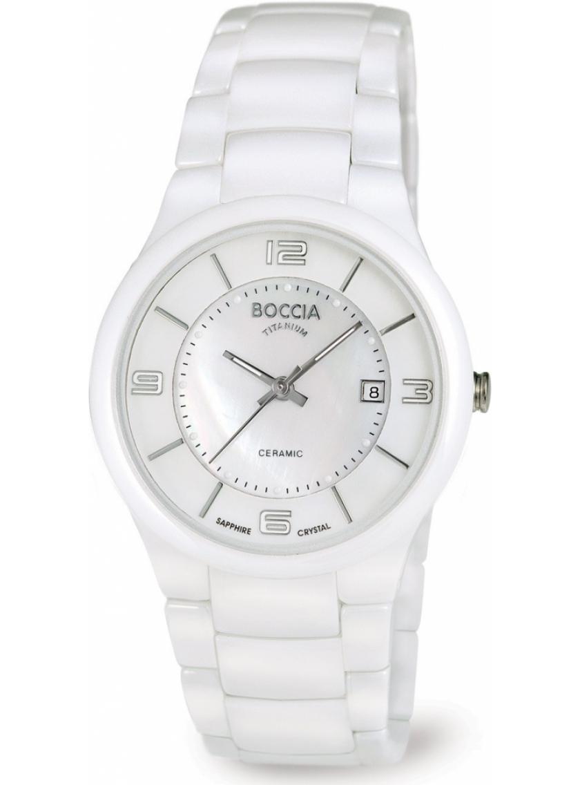 Dámské hodinky BOCCIA TITANIUM Ceramic 3196-01  b230e9da85
