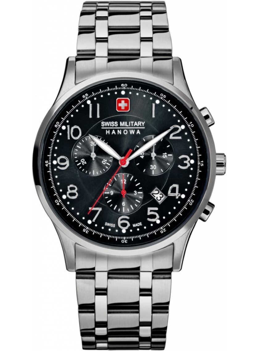 6ca7b8d24 Pánské hodinky SWISS MILITARY Hanowa Patriot 5187.04.007   Klenoty ...