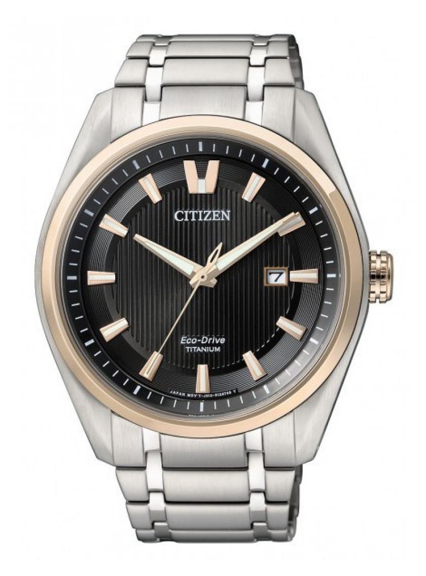 3D náhled Pánské hodinky CITIZEN Eco Drive Super Titanium AW1244-56E 88f6724f46
