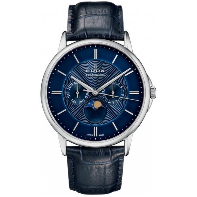 3D náhled Pánské hodinky EDOX Les Bémonts Moon Phase 40002 3 BUIN c3fa6d5af3