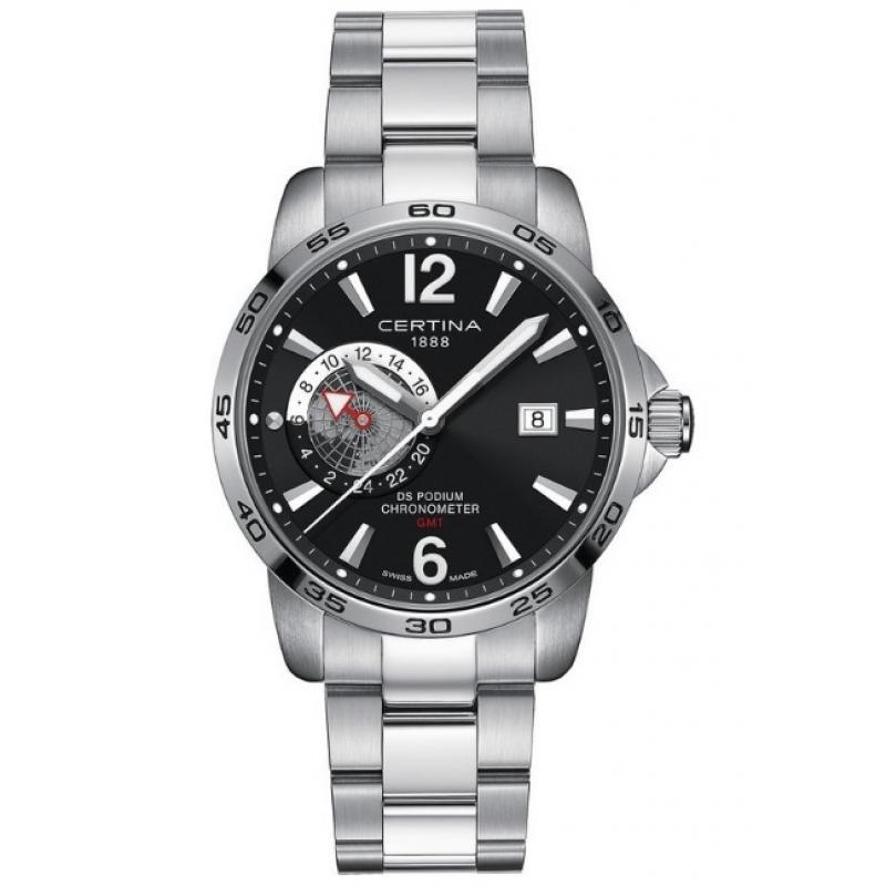 786cac7e3bc 3D náhled Pánské hodinky CERTINA DS Podium Chronometer GMT  C034.455.11.057.00