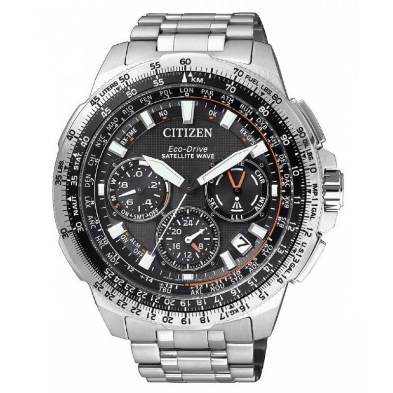 Pánské hodinky CITIZEN Satellite Wave Eco-Drive CC9020-54E  8f8f8488ab