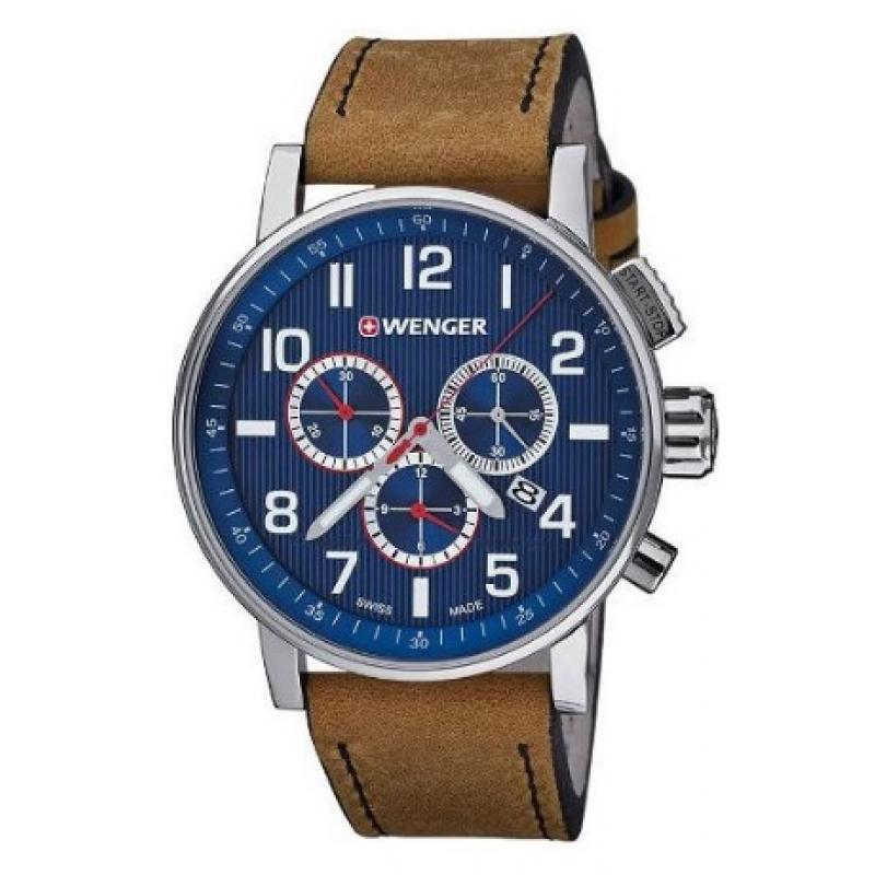 3D náhled Pánské hodinky WENGER Attitude 01.0343.101 a0505c5f28