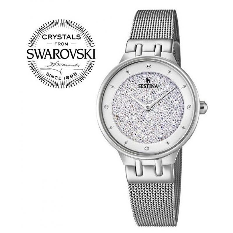 Dámské hodinky FESTINA Swarovski 20385 1 ... 9d326e870d