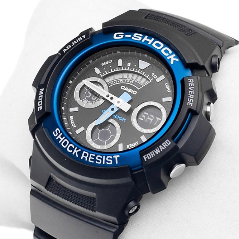 Pánské hodinky CASIO G-SHOCK AW-591-2A ... faa84a4487